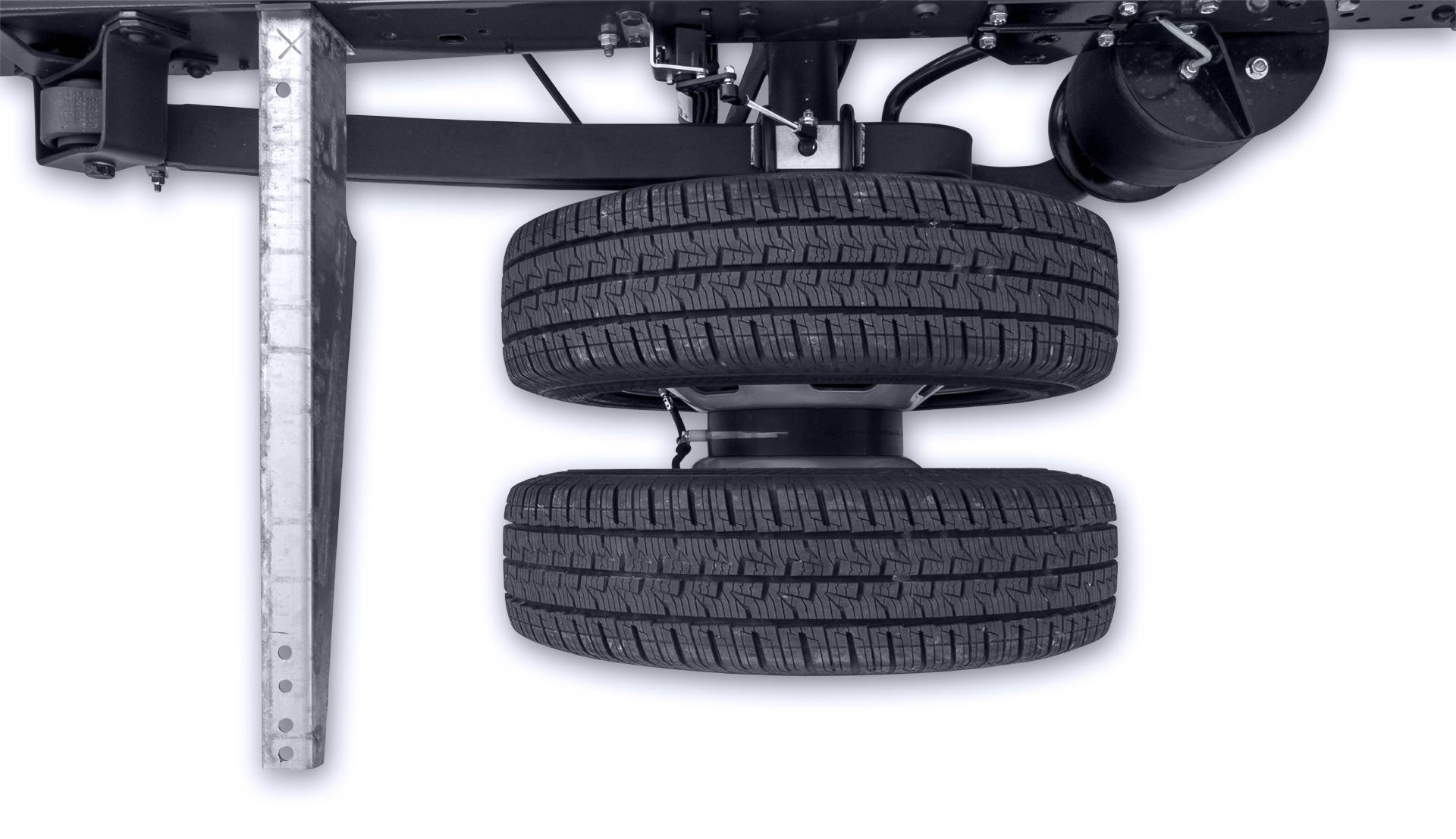 Spurverbreiterung mit Distanzscheiben von Fahrzeugbau Meier