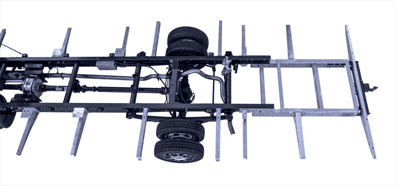 Rahmenabsenkung von Fahrzeugbau Meier