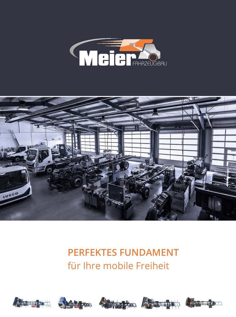 Fahrzeugbau Meier Broschüre